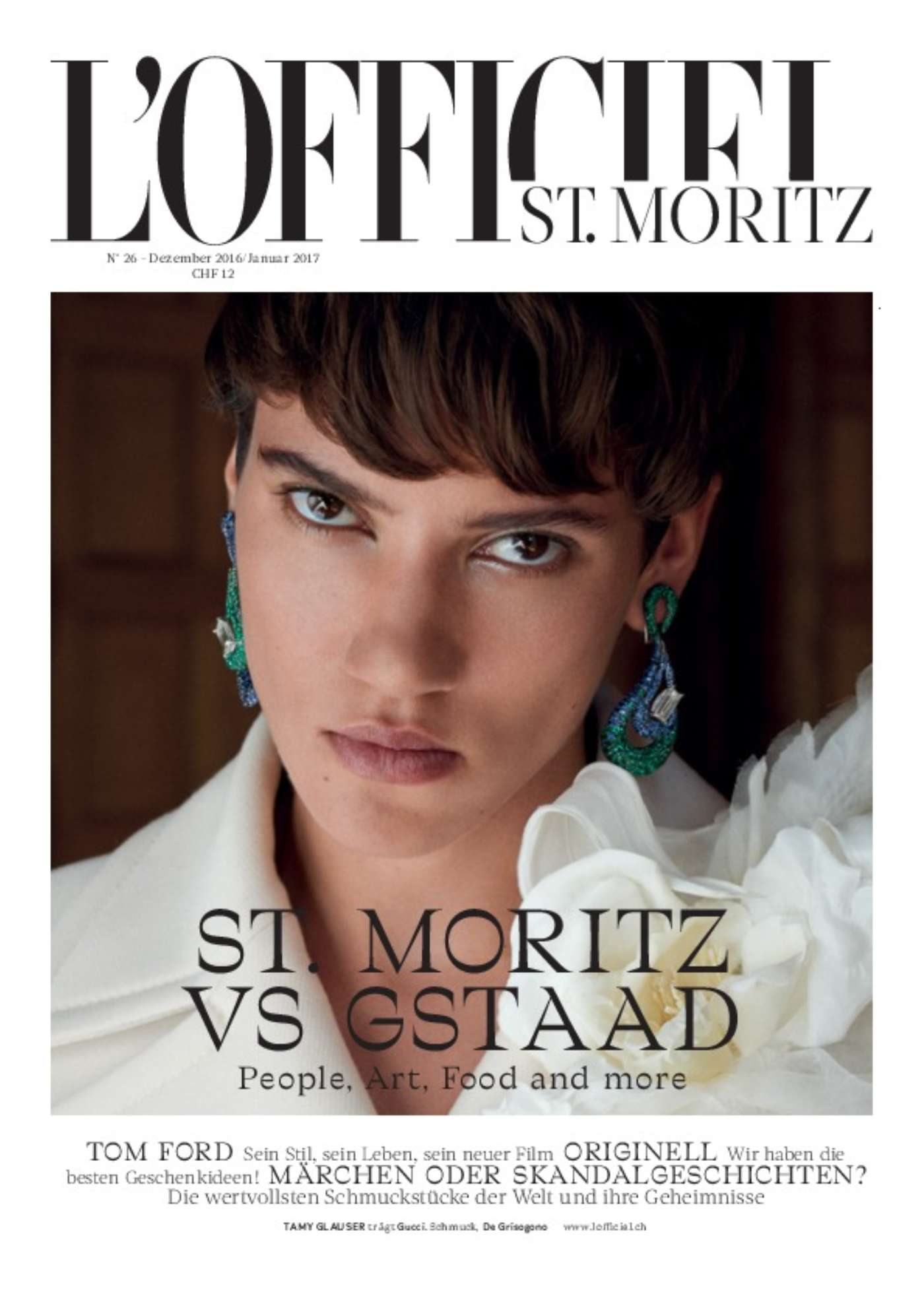 Lofficiel Dez 16 Jan 17 Cover
